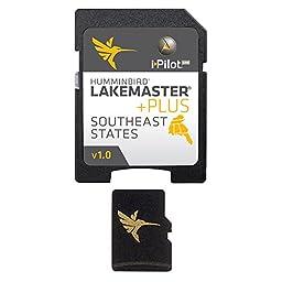 Humminbird Lakemaster Plus Southeast States Micro Sd