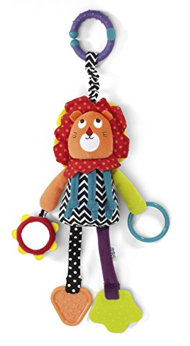 Mamas & Papas Babyplay Taggie Lion Toy - 1