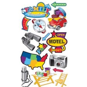 STICKO CLASSIC FAMILY VACATION Papercraft, Scrapbooking (Source Book)