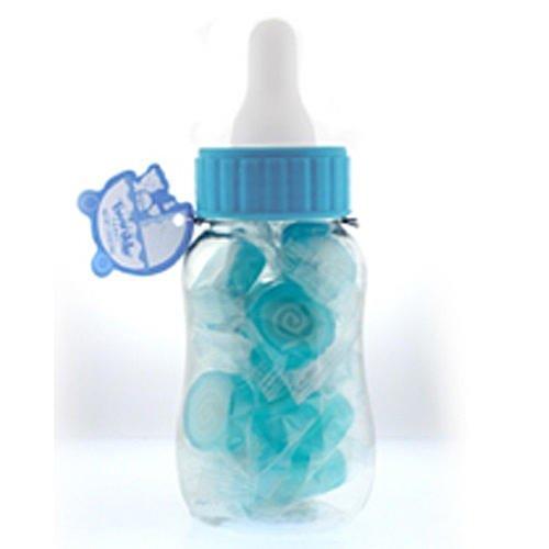 24 PLASTIC FILLABLE BOTTLE BABY SHOWER FAVOR (3 1/2