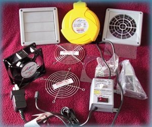 Vg200 Vent-A-Garage Air Exchange System For Two Car Garage