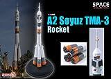 DRAGON 1/400 ロシア A2ソユーズ ロケット TMA-3