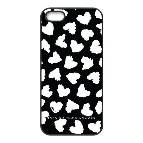 Marc Jacobs V4C12L3GU cover iPhone 4 4s Case Cover Black 3V7O4H