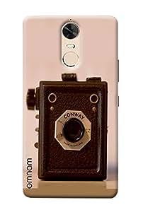 Omnam Vintage Camera Printed Designer Back Case For Lenovo K5 Note