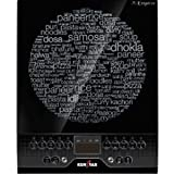 Kenstar Kitchen Emperor 2100-Watt Induction Cooktop (Black)