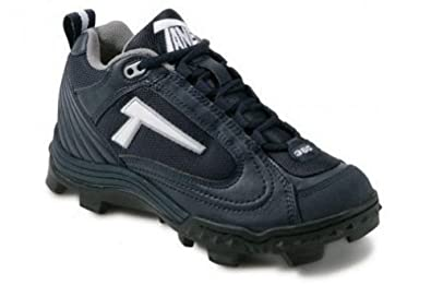 Buy Tanel 360° REV-D Low Cut Ladies Softball Cleat SpiderFlex Tech. Baseball Shoes. Navy. White... by Tanel 360
