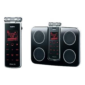 【クリックで詳細表示】SANYO Xacti SOUND RECORDER ICR-XPS03MF(S)