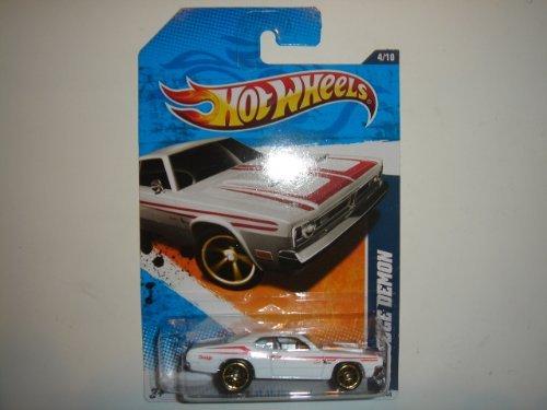 2011 Hot Wheels '71 Dodge Demon White #184/244