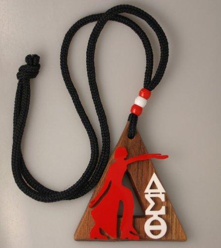 Delta Sigma Theta - Wood Medallion