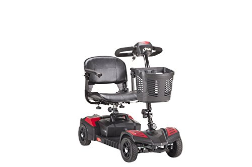 Drive Medical Sfscout4 Spitfire Scout 4 Wheel Scooter With 5 Year Ext Warranty Incl batteries