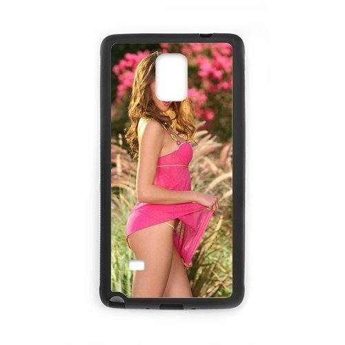 2015 New Sexy Model Erica Ellyson Hot Woman Design Hard Protective Back Cover Shell for SamSung Galaxy Note4 Phone (Chucky Doll For Sale Cheap)