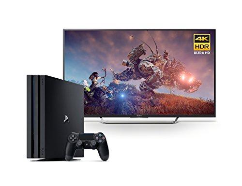 Sony 55-Inch 4K HD TV + PS4