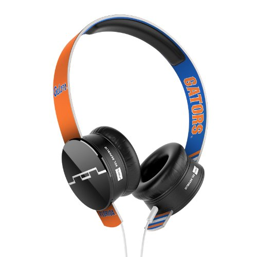 Sol Republic 1211-Ufl Collegiate Series Tracks On-Ear Headphones With Three Button Remote And Microphone - University Of Florida