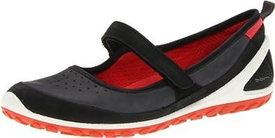 ECCO Women's 1.2 Mary Jane Shoe,Black/Dark Shadow,40 EU/9-9.5 M US