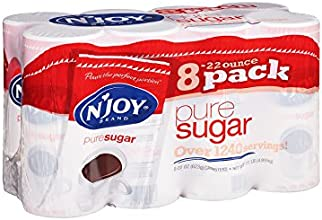 N39joy - Pure Cane Sugar Canisters 22 Oz - 8 Count
