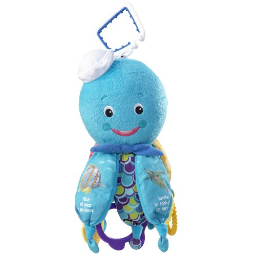 Baby Einstein Octopus Hanging Toy, Blue