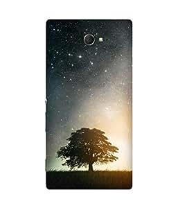 Sky And Tree Sony Xperia M2 Case