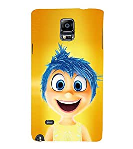 Vizagbeats Inside Out boy Back Case Cover for Samsung Galaxy Note 4