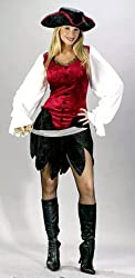 Adult First Mate Pirate Costume - M/L