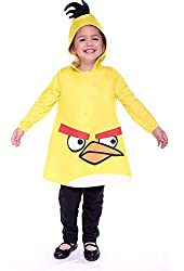 Angry Birds Yellow Costume - 3T/4T