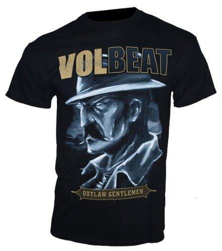 Volbeat-T-Shirt Outlaw Gentlemen taglia XXL-Band maglietta