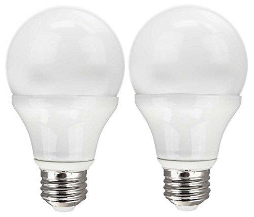 Tcp Rlas7W27K2 Led A19 - 40 Watt Equivalent (7W) Soft White (2700K) Dimmable Standard Light Bulb 2-Pack