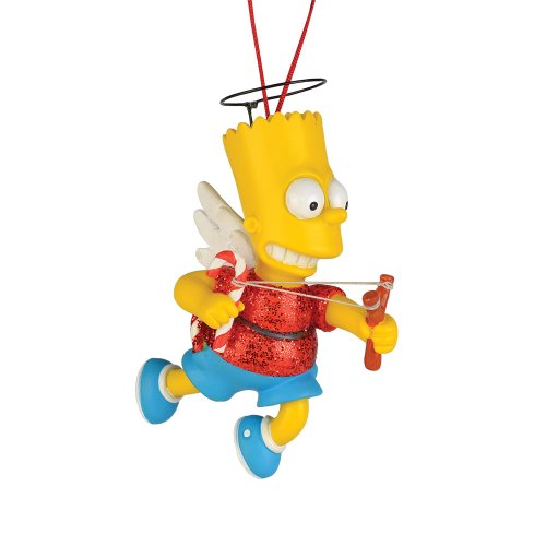 Department 56 The Simpson's from Bart The Angel Ornament