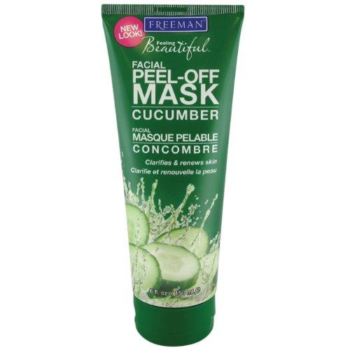 Freeman Freeman Facial Peel-Off Mask With Cucumber, 6 oz