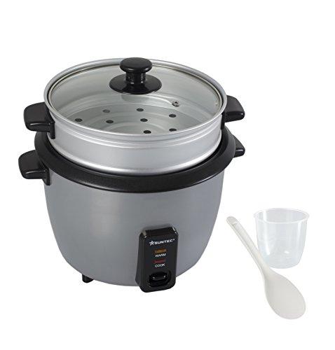 HOME-Essentials-Reiskocher-RKO-9752-15-l-Fassungsvermgen-auch-als-Dampfgarer-Innentopf-abnehmbar-max-500-Watt