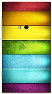 Amazing multicolor printed protective REBEL mobile back cover for Nokia Lumia 920 D.No.N-L-11461-N920