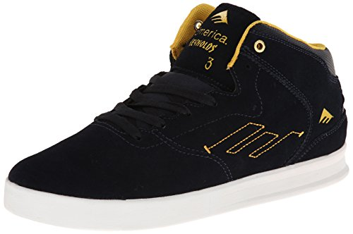Emerica - The Reynolds, Scarpe Da Skateboard da Uomo, Blu(Blau (Bleu (Navy/Yellow))), 46