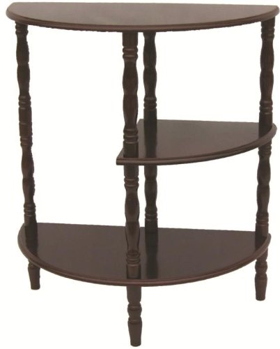 Cheap Home Source Industries AF9816 Multi Tiered End Table, Mahogany (AF9816)