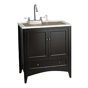 foremost berkshire 30 in single bathroom vanity. Black Bedroom Furniture Sets. Home Design Ideas
