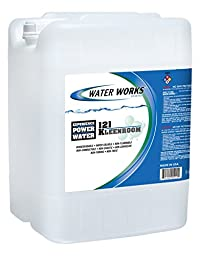 Water Works 121 KLEEN ROOM Concentrate Surfactant Based Floor Cleaner/Degreaser, 5 Gallon