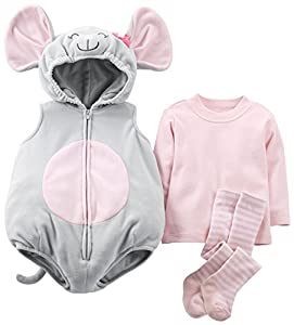 Carter's Baby Girls' Halloween Costume (Baby) - Mouse - 18 Months