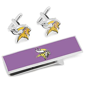 Minnesota Vikings Cufflinks and Money Clip Gift Set by Cufflinks