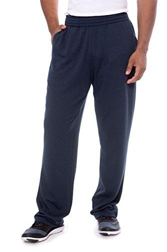 Texere Men's Lounge Yoga Sweat Pants (Trenton, Midnight Blue, X-Large) Holiday Gift Ideas TX-MB130-002-MNBU-R-XL