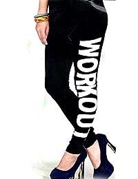 Cotton Leggings Designer Bottom For Womens & Girls Free Size L / XL Printed Black 2041