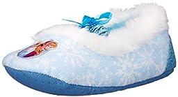 Disney Frozen Ballet 204 Slipper (Toddler/Little Kid), Light Blue, Small (5/6 M US Toddler)