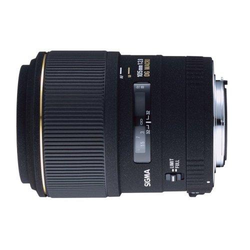 Sigma 105Mm F/2.8 Ex Dg Medium Telephoto Macro Lens For Canon Slr Cameras