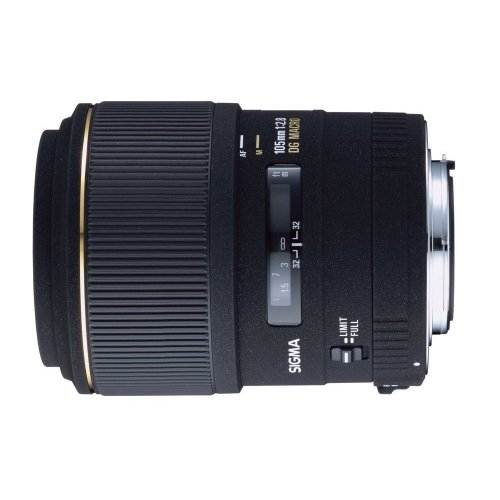 Sigma 105Mm F/2.8 Ex Dg Medium Telephoto Macro Lens For Nikon Slr Cameras