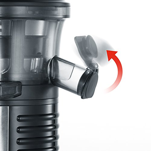 Severin ES 3569 Slow Juicer, estrattore di succo lento da 150 W e 1 l