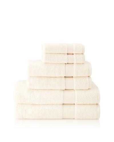Cobra Trading 6-Piece Signature Terry Towel Set, Crème