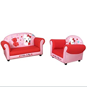 Hello Kitty® Sofa And Armchair by Najarian Furniture Co.,Inc.