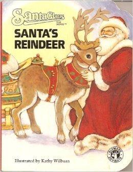 Santas Reindeer (Pudgy Pal Board Book)