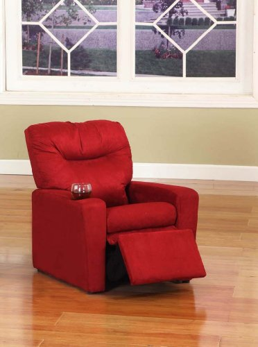 Kings Brand Red Microfiber Kids Childrens Recliner Chair With Cup Holder & Kids Recliners Archives « Recliners Sale Recliners Sale islam-shia.org