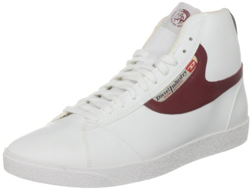Diesel Men's Dragon White/Red Lace Up 00Yg02Ps262H1977 6 UK