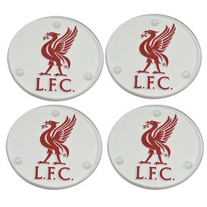 Official Football Team Round Glass Coasters - 4 pack (Various Teams to choose from!)