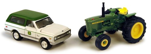 1:64 John Deere 4320 And Blazer front-778286