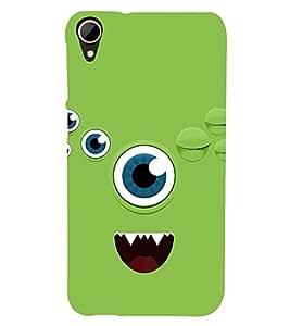 Animated Eye 3D Hard Polycarbonate Designer Back Case Cover for HTC Desire 828 :: HTC Desire 828Q :: HTC Desire 828S :: HTC Desire 828G+ :: HTC Desire 828 G Plus :: HTC Desire 828 Dual Sim